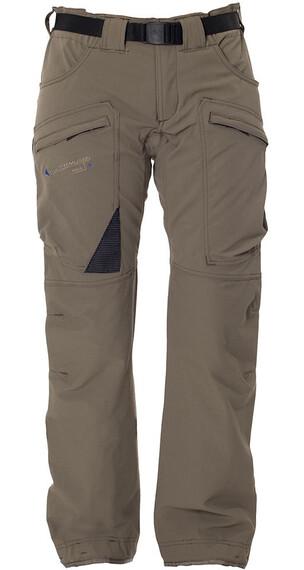 Klättermusen W's Gere Pants 1.0 Dark Khaki